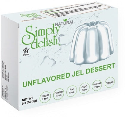 Simply Delish Unflavoured Jel Dessert - Sugar Free 9g