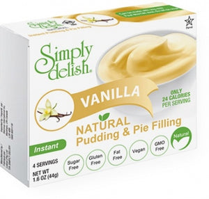 Simply Delish Vanilla Pudding - Sugar Free 44g