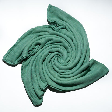 Bamboo Swaddle Blanket - Sea