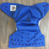 Willow Diaper Cover - Blue