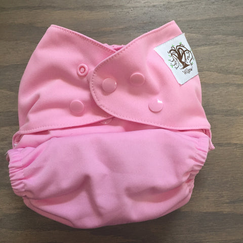 Willow Diaper Cover - Pink