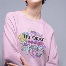 Load image into Gallery viewer, It's Okay to Need Space Unisex Crew Neck