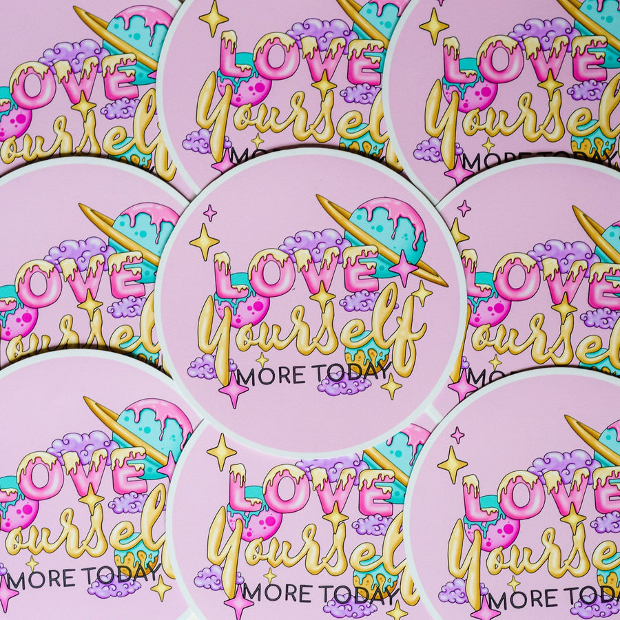 Sticker - Love Yourself More Today