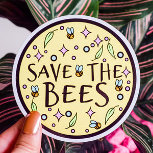 Sticker - Save The Bees Sticker