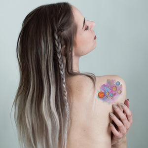 Temporary Tattoo - Galaxy Adventures Temporary Tattoo Pack