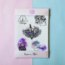 Load image into Gallery viewer, Temporary Tattoo - Witches And Wizards Temporary Tattoo Pack