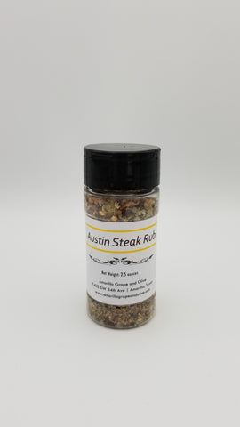 Austin Steak Rub - Amarillo Grape and Olive