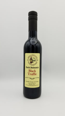 Black Truffle Balsamic Vinegar - Amarillo Grape and Olive