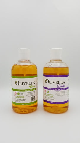 Olivella - Bath and Shower Gel - Amarillo Grape and Olive