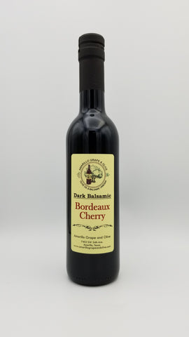Bordeaux Cherry Balsamic Vinegar - Amarillo Grape and Olive