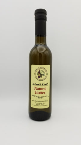 Natural Butter Infused Extra Virgin Olive Oil - Amarillo Grape and Olive