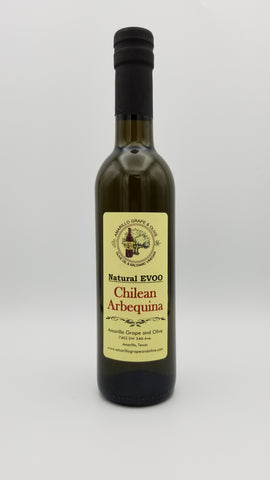 Chilean Arbequina Extra Virgin Olive Oil - Amarillo Grape and Olive