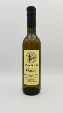 Garlic Infused Olive Oil - Amarillo Grape and Olive