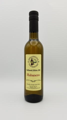 Habanero Infused Olive Oil - Amarillo Grape and Olive