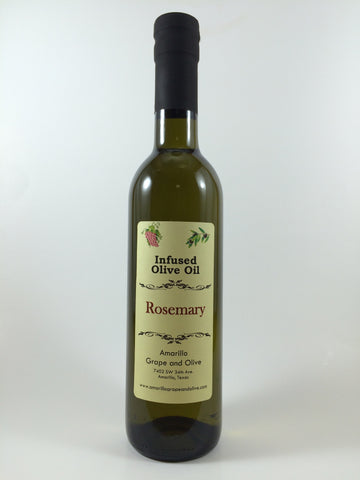Rosemary Infused Olive Oil - Amarillo Grape and Olive