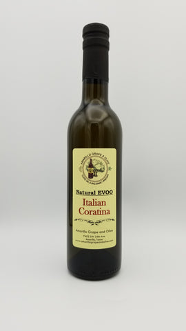 Italian Coratina Extra Virgin Olive Oil - Amarillo Grape and Olive