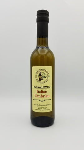 Italian Umbrian Extra Virgin Olive Oil - Amarillo Grape and Olive