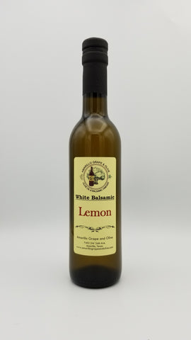 Lemon White Balsamic Vinegar - Amarillo Grape and Olive