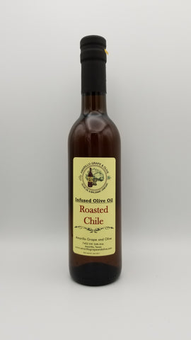 Roasted Chile Infused Olive Oil - Amarillo Grape and Olive