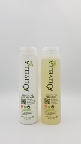 Olivella - Shampoo and Conditioner - Amarillo Grape and Olive