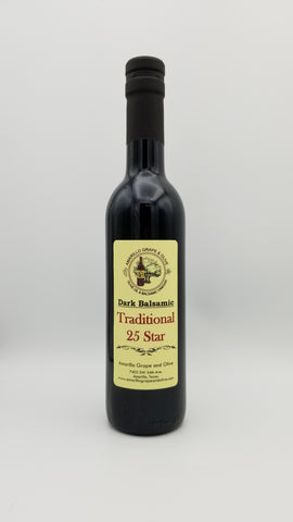 25 Star Traditional Balsamic Vinegar - Amarillo Grape and Olive