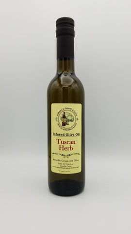 Tuscan Herb Infused Olive Oil - Amarillo Grape and Olive
