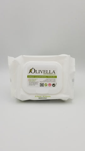 Olivella - Daily Cleansing Wipes - Amarillo Grape and Olive