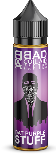 Thirsting Dat Purple Stuff - Grape Mix-flavored E-juice, E-Liquid, Bad Coilaid Vapors, Bad Cool-Aid Vapors