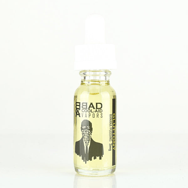 Sweet Gluttony - Banana Pudding-flavored E-juice, E-Liquid, Bad Coilaid Vapors, Bad Cool-Aid Vapors
