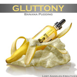 Sweet Gluttony - Banana Pudding-flavored E-juice, E-Liquid, Bad Coilaid Vapors, Bad Coilaid Vapors