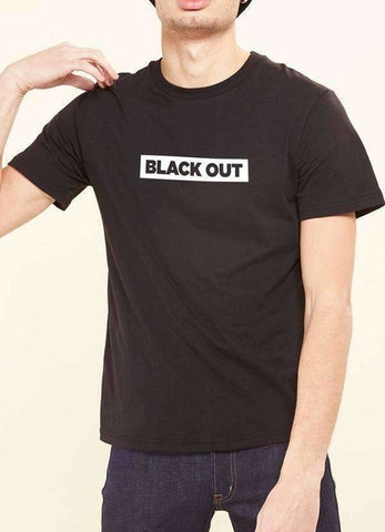 Black Out T-Shirt, Men's Clothing, Spocket, Bad Coilaid Vapors