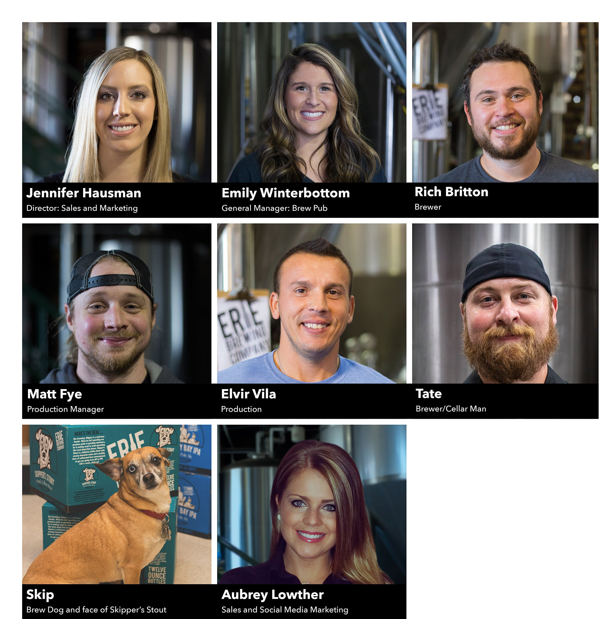 Erie Brewing Employees