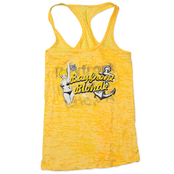 Woman's Bayfront Blonde Tank - Erie Brewing Company  - 1