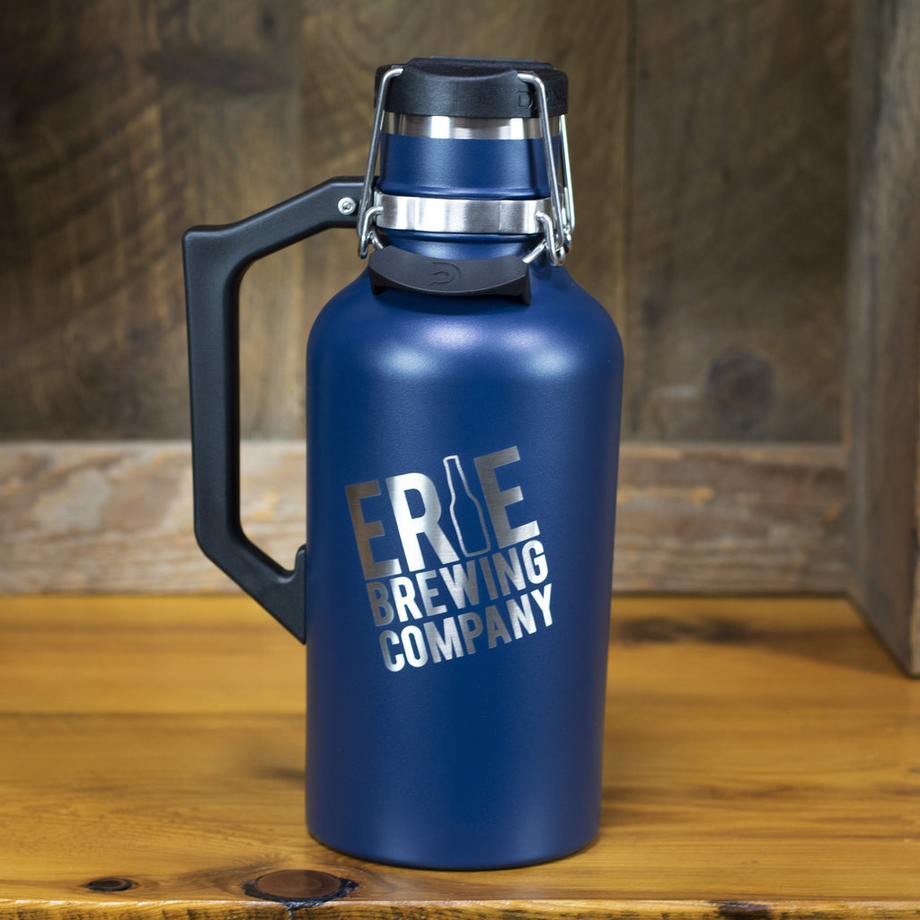 64 oz. Stainless Drink Tank™ Insulated Growler with Stainless EBC Logo (Storm)