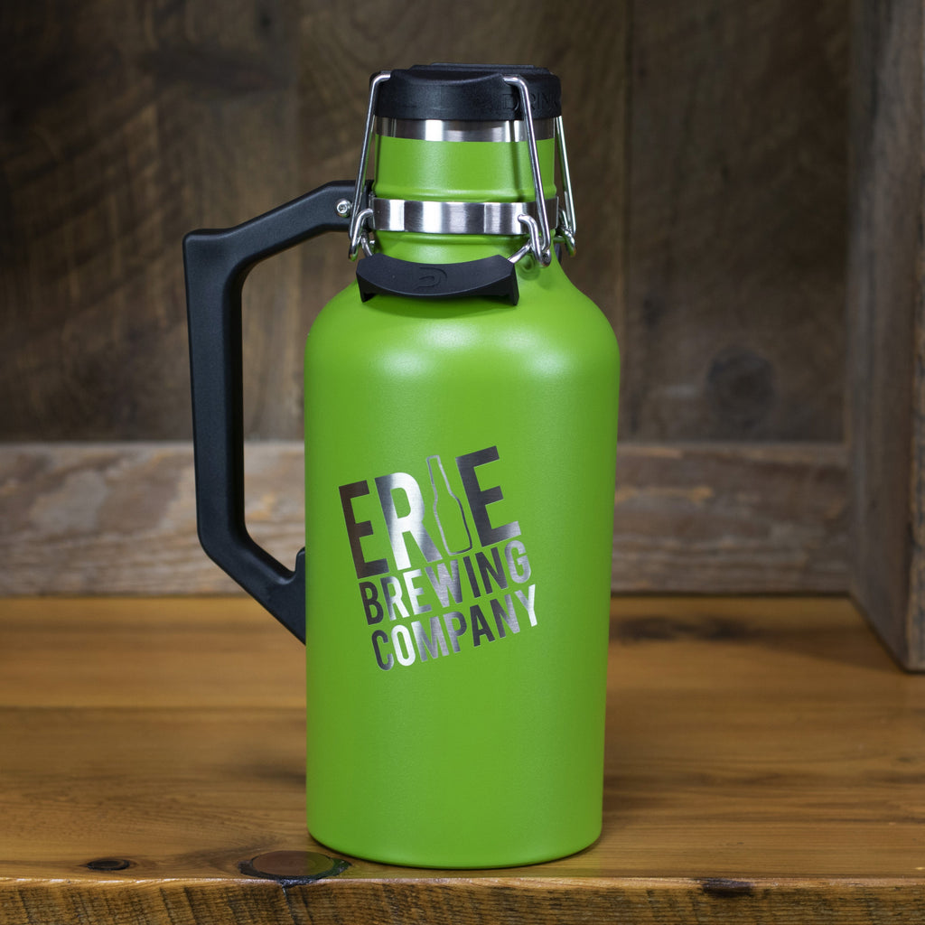 64 oz. Stainless Drink Tank™ Insulated Growler with Stainless EBC Logo (Fern)