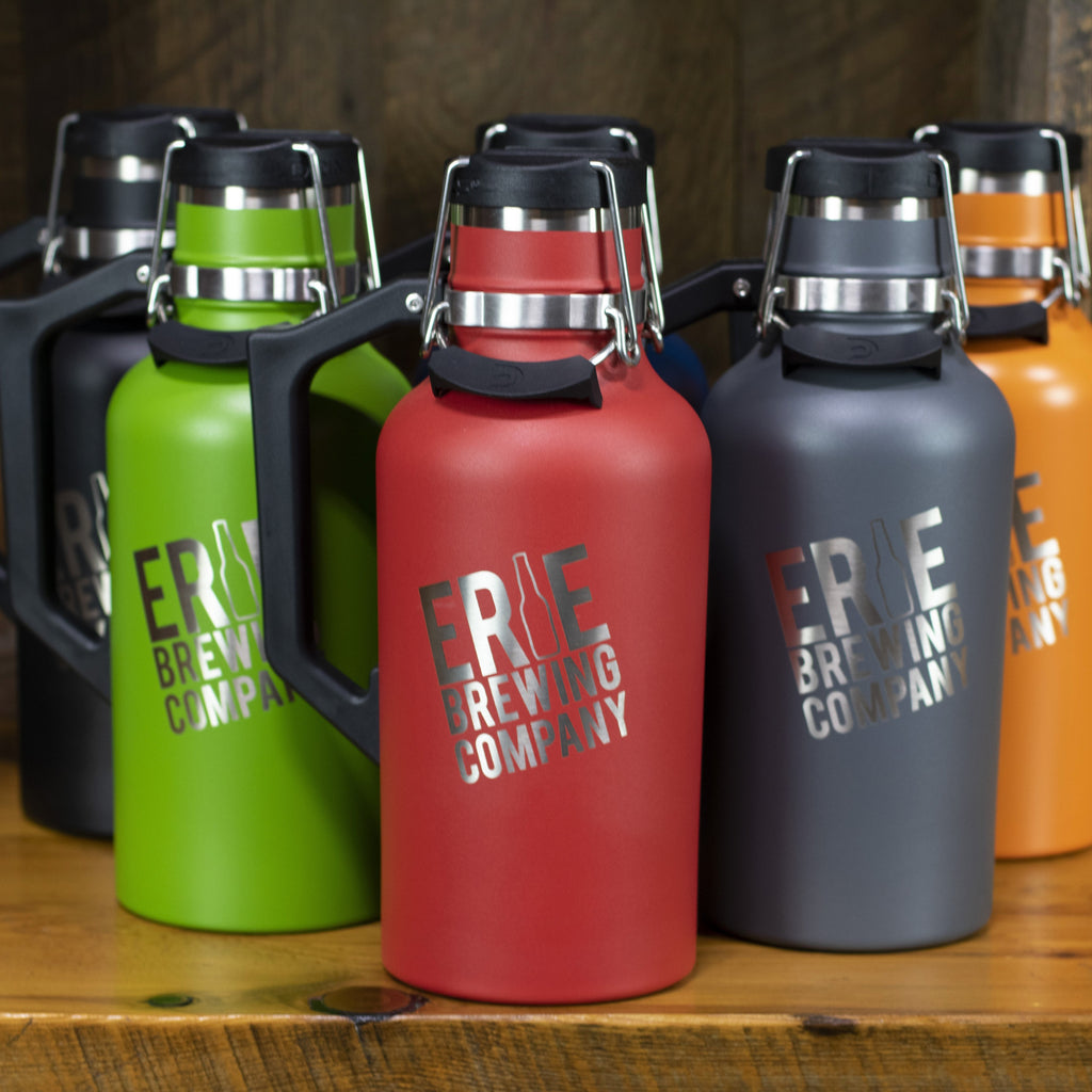 64 oz. Stainless Drink Tank™ Insulated Growler with Stainless EBC Logo (All colors)