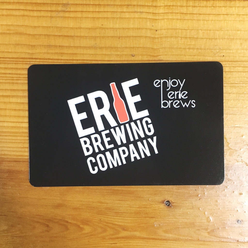 Erie Brewing Gift Card (Knowledge Park)