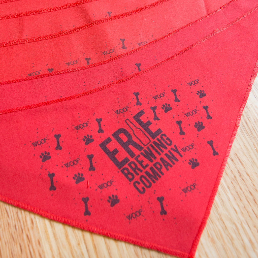 Dog Bandanas (RED)