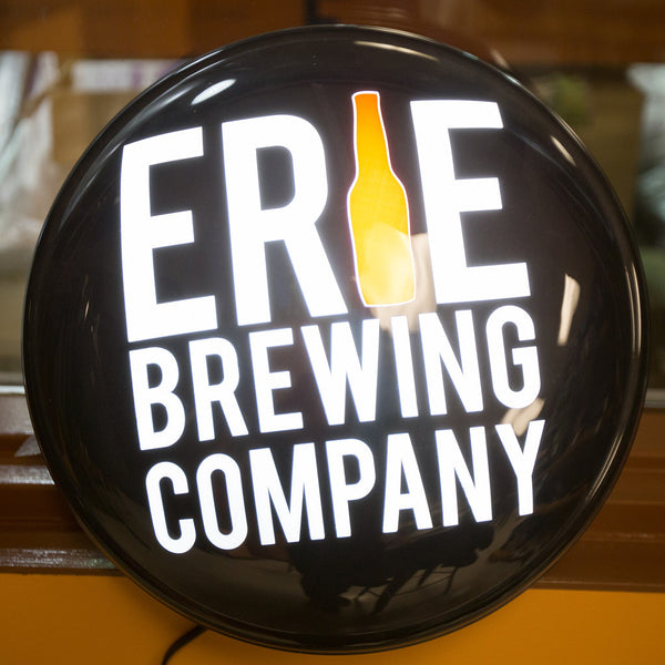 Light Up EBC Pub Sign (Wholesale) - Erie Brewing Company  - 1