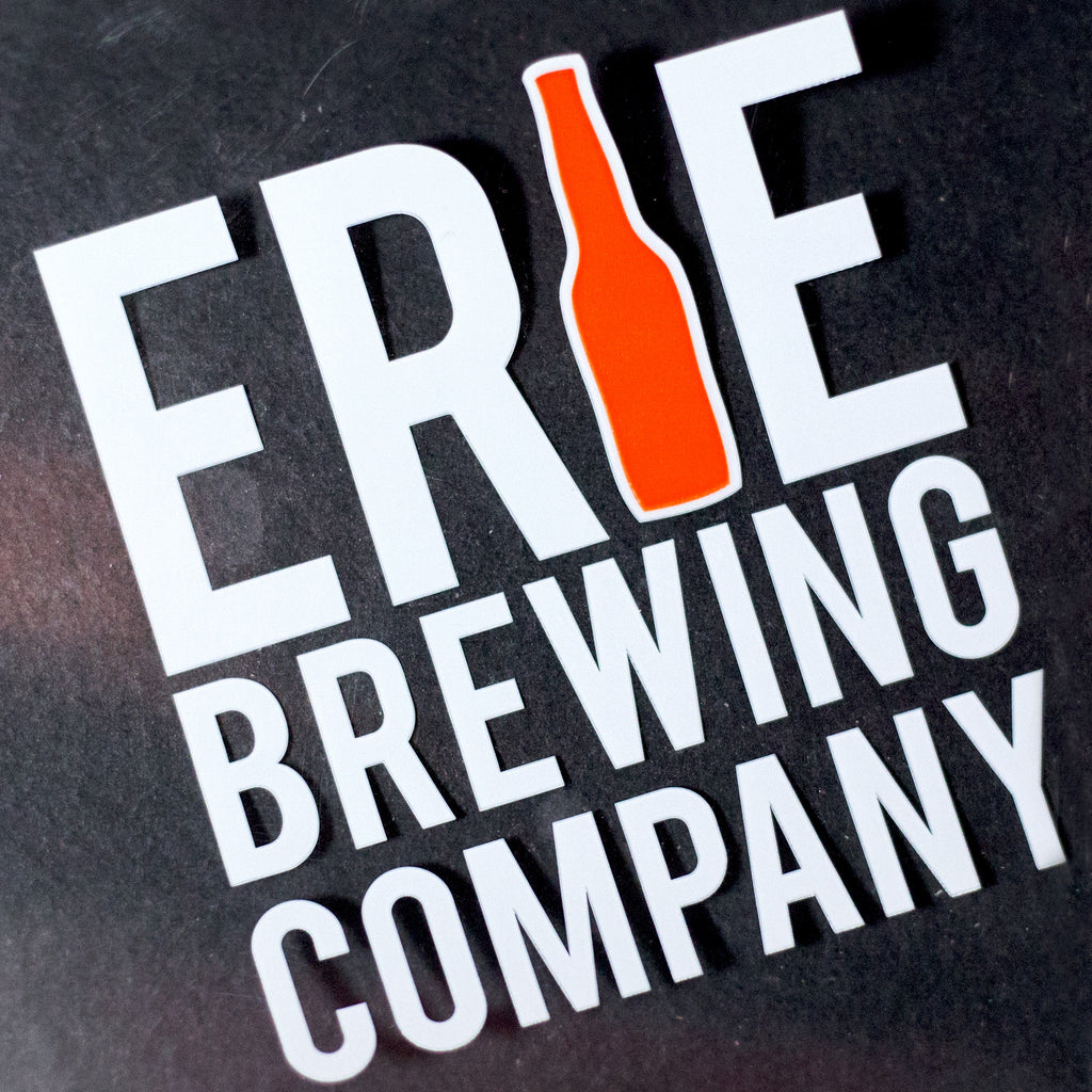 New Logo Sticker - Erie Brewing Company