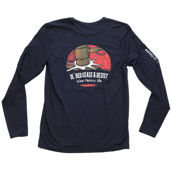 Ol' Red Long Sleeve - Erie Brewing Company  - 2