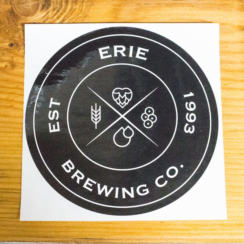 Erie Brewing Company Patch Logo Sticker