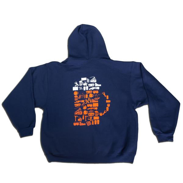 EBC Hoodie (Wholesale) - Erie Brewing Company  - 2