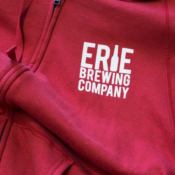 EBC Zip-Up Hoodie - Erie Brewing Company  - 2