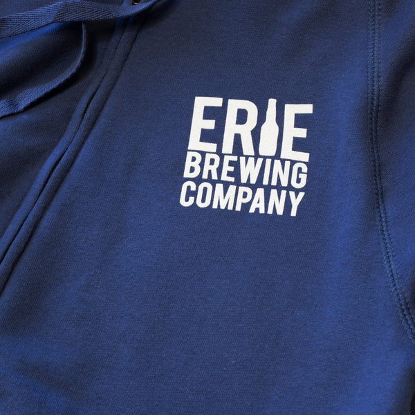 EBC Zip-Up Hoodie - Erie Brewing Company  - 3