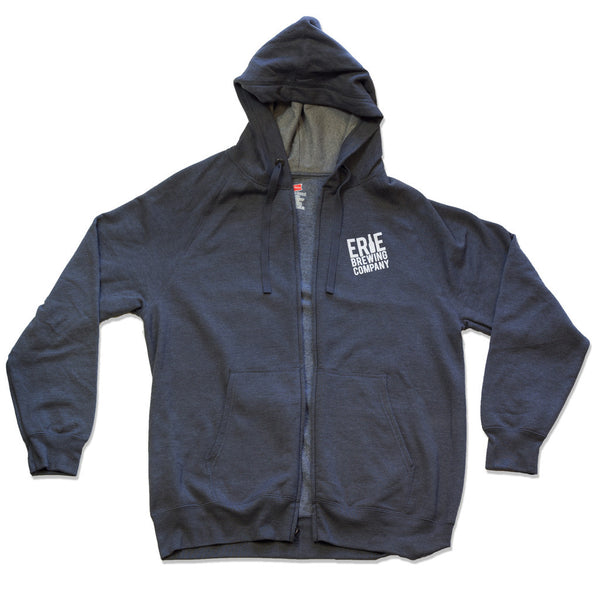 EBC Zip-Up Hoodie (Wholesale) - Erie Brewing Company
