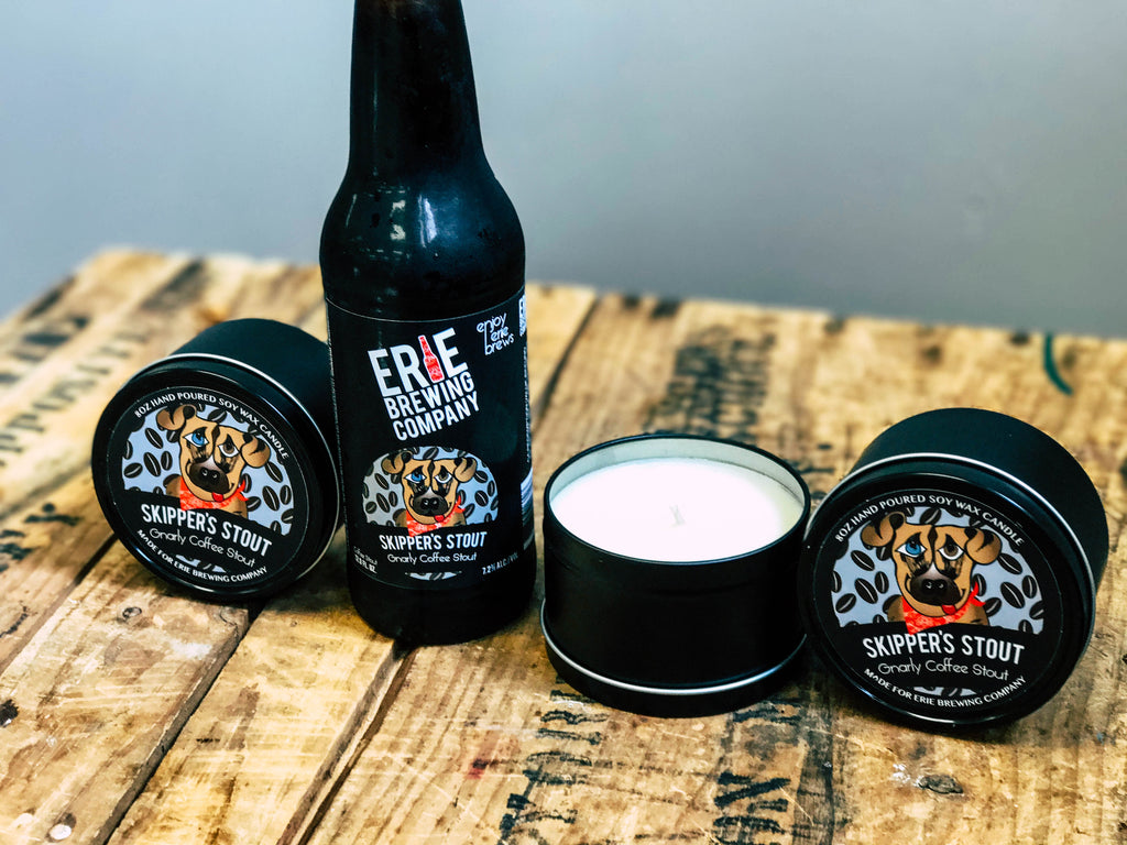Erie Brewing Company Brew Candles