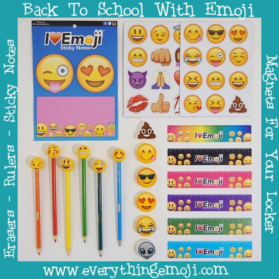 Back To School With Emoji