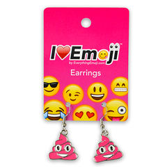 Emoji Drop Earrings | Emoji Dangle Earrings | Emoji Stud Earrings