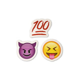 100 Emoji : Smiling Devil Horns Emoji : Tongue Out Emoji / Squint Tongue Out